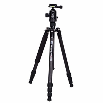 Triopo GT2504C Tripod Set with N-2 Ball Head Red