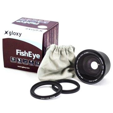 Fish-eye Lens with Macro for Fujifilm FinePix S3000