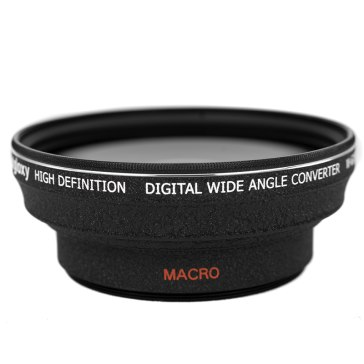 Gloxy Wide Angle lens 0.5x for Fujifilm FinePix HS25EXR