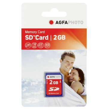 2GB SD Memory Card for Samsung WB500