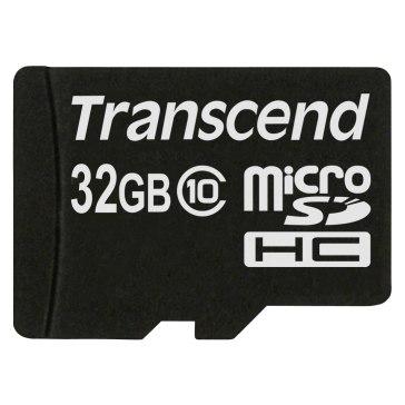 Transcend 32GB MicroSDHC Card Class 10 for JVC GZ-MS250