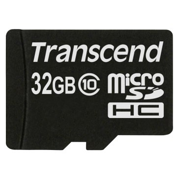 Transcend 32GB MicroSDHC Card Class 10 for Ricoh WG-5 GPS