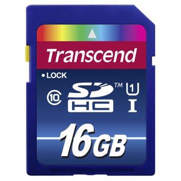 Transcend 16GB SDHC for Casio Exilim EX-S12