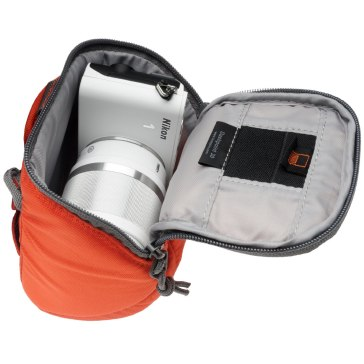 Lowepro Dashpoint 30 Camera Pouch Orange for Pentax Optio W90